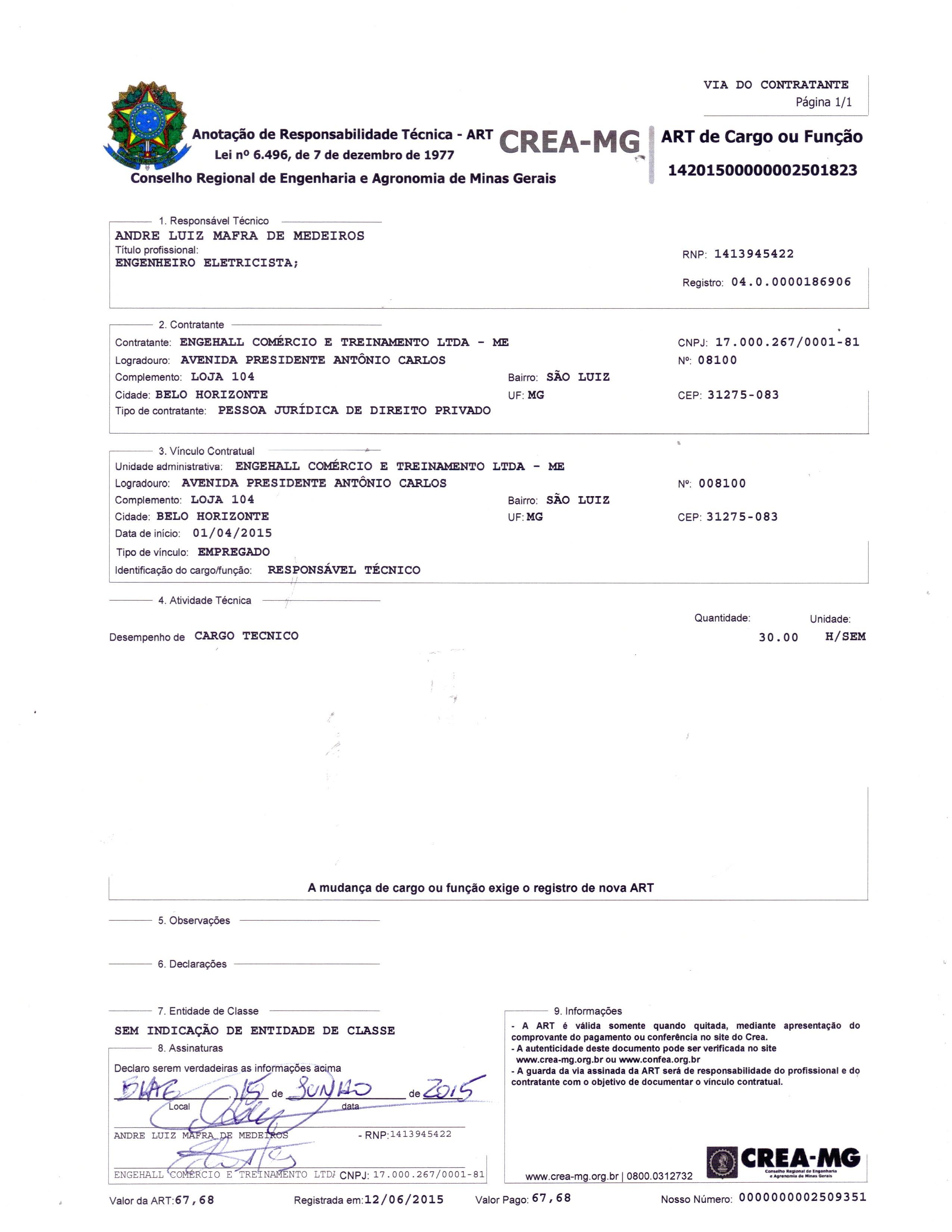 Atestados e Certificações 8