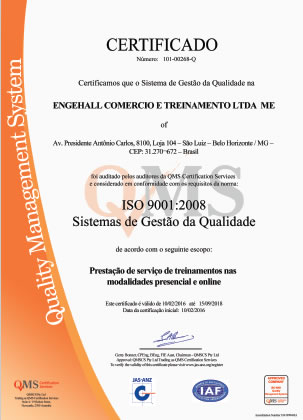 Atestados e Certificações 7