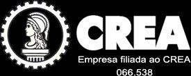 Empresa filiada ao CREA